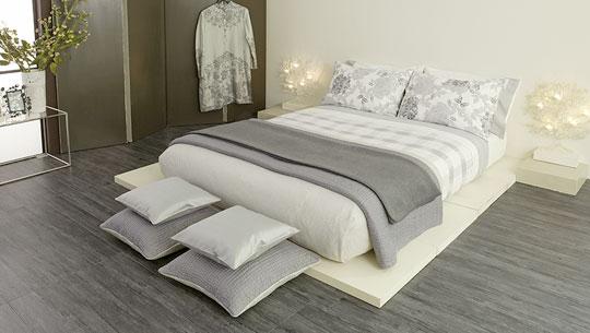 Quarto de casal com cama de tatame papo de design for Cama tipo japonesa