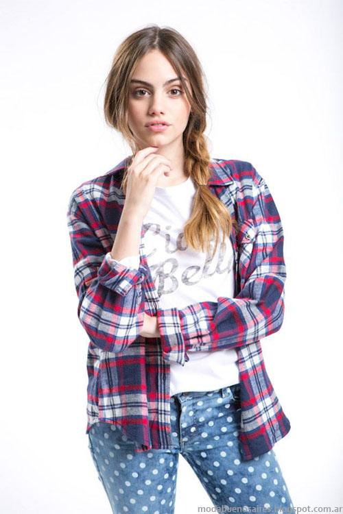 Ropa de moda invierno 2015 camisas de moda Como quieres.