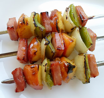 many shish-ka-bob variations and flavors