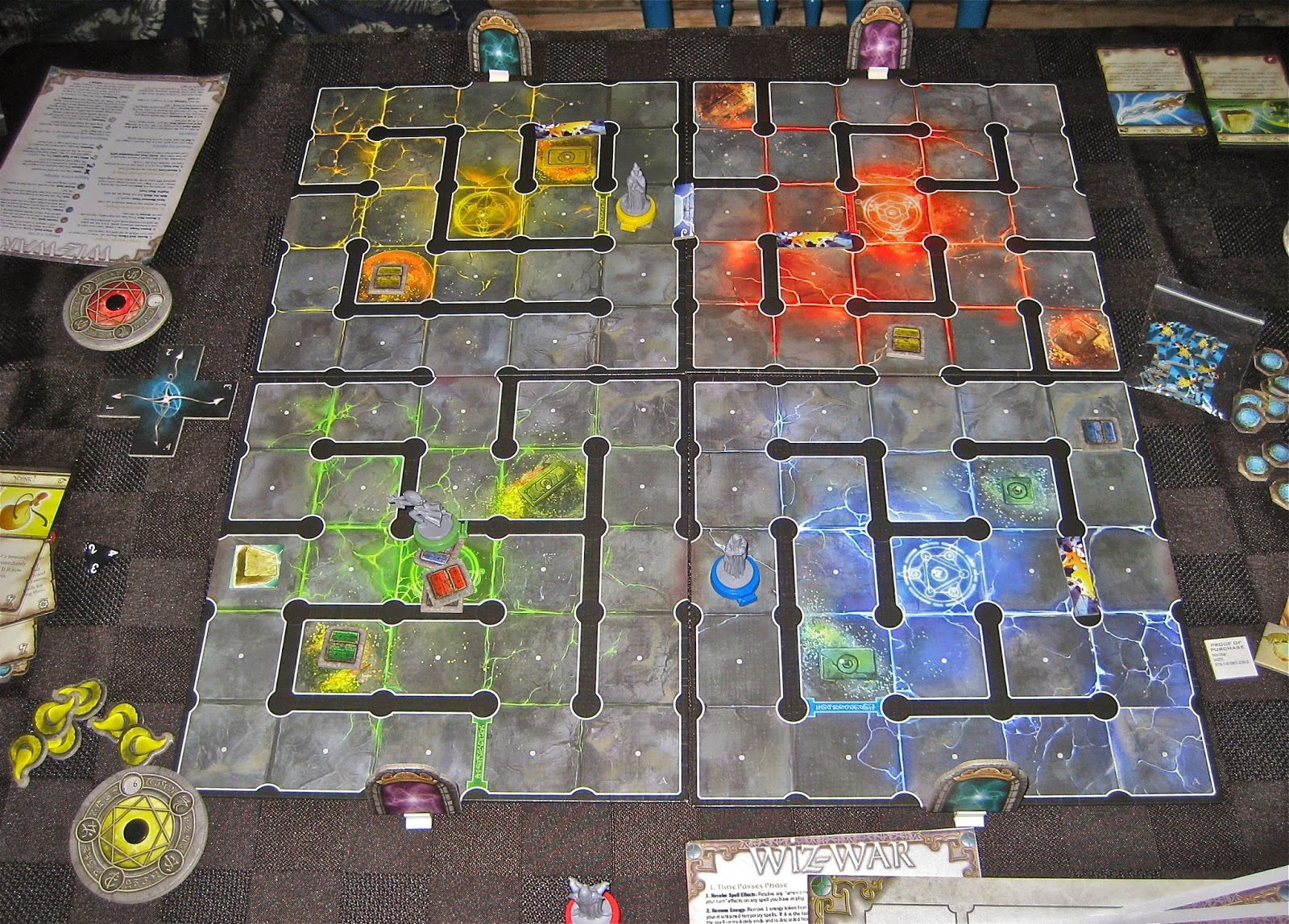 Yet Another Friggin Gaming Blog November 2014 Amazoncom Science Wiz Cool Circuits Toys Games As Detailed In This Recent Entry I Missed Out On Buying War When It First Came Down The Pike But Fantasy Flight Released Its Swanky New Reprint