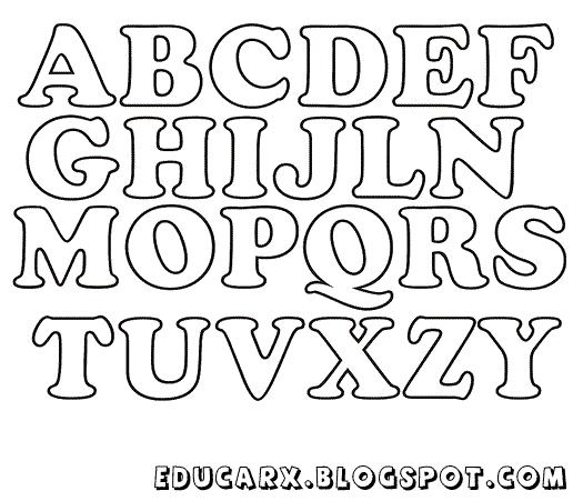 Modelo de letras 1 ano