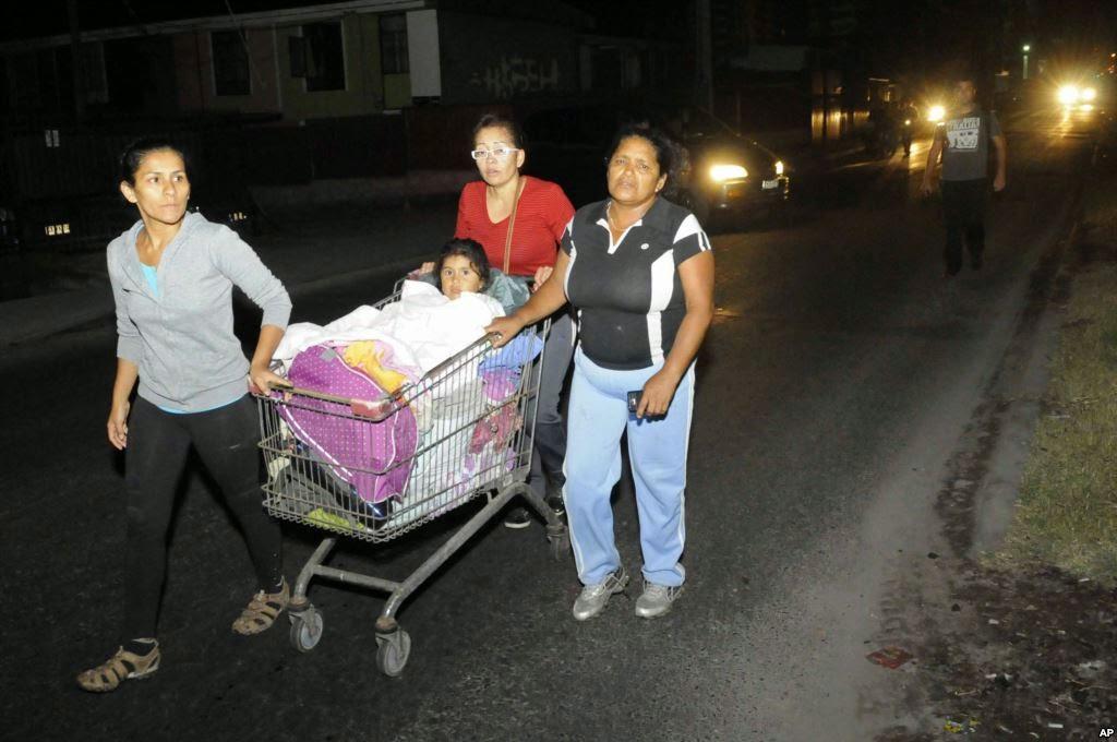 Gempa Susulan Chile