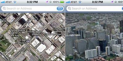 Pihak Apple Semakin Gencar Membenahi Peta Pada Gadget Mereka