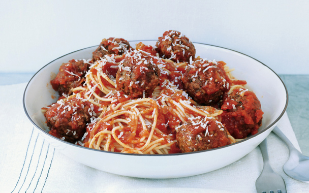 Best Recipes: Italian Recipes : Spaghetti and Meatballs