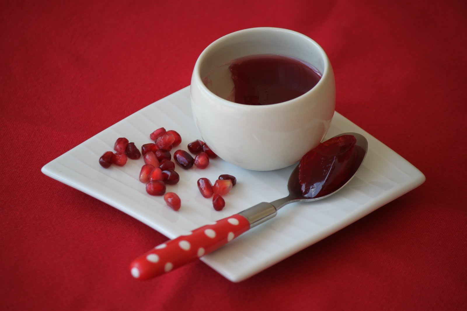 Oscar's Lunch: Cranberry & Pomegranate Jelly (Rainbow Recipes - Red)