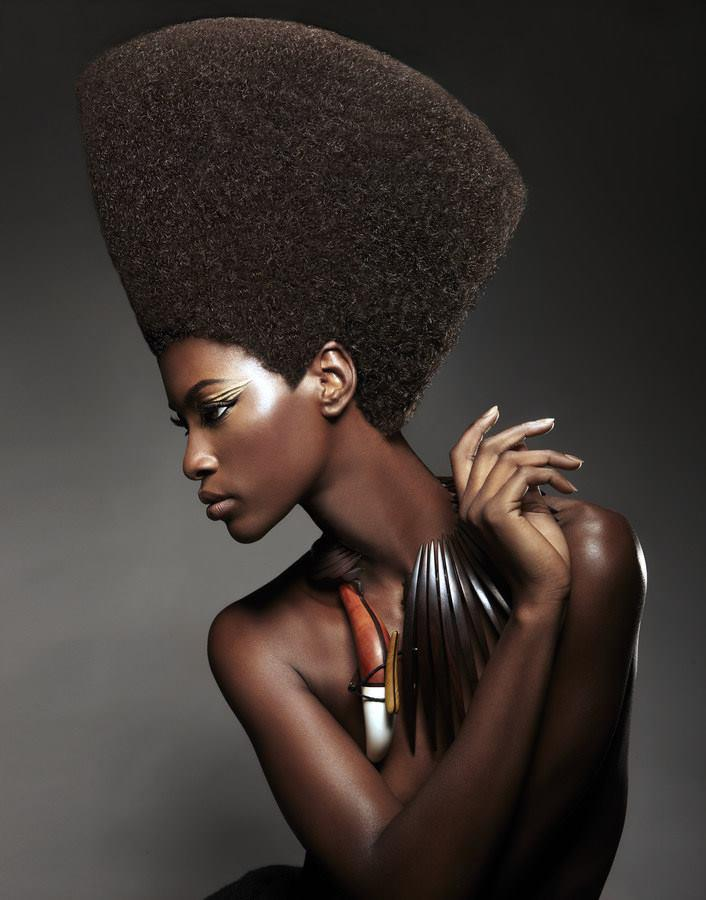 gorgeous nubian queen chocolate natural