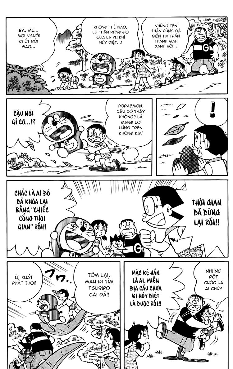Truyện tranh Doraemon Dài Tập 25 - Nobita và truyền thuyết thần rừng trang 192