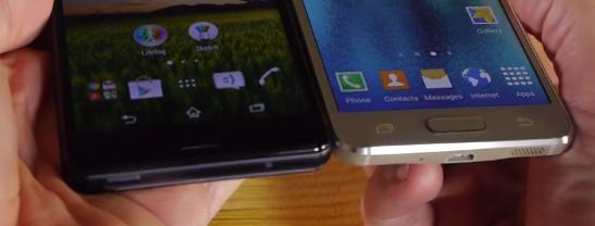 Smartphone Samsung Galaxy Alpha Terbaru VS Sony Xperia Z3 Compact terbaru