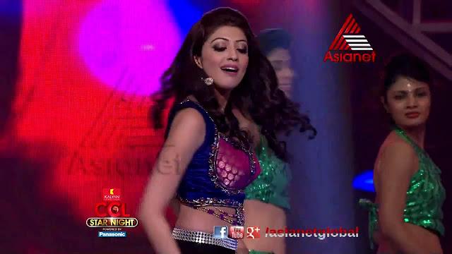 Pranitha CCL3 Star Night dance