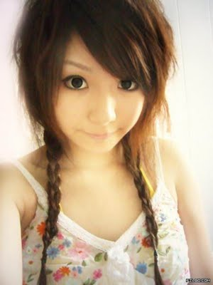 Hair wallpapper japanese hairstyle for girls