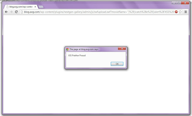 Dork SWFUpload  xss Wordpress.
