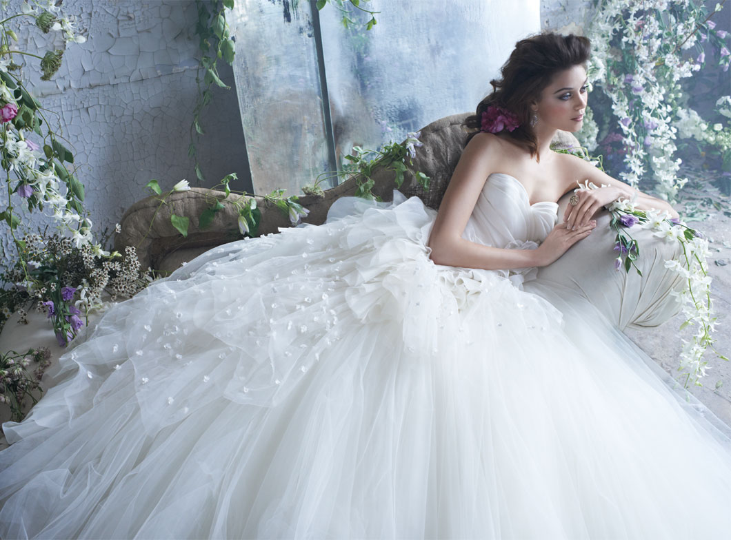 Princess-Like Bride Dresses