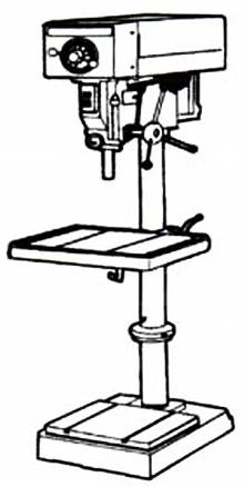 mechanical technology  sensitive drilling machine