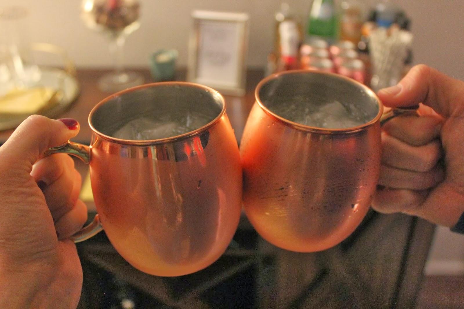 copper mug moscow mule mug