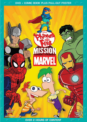 Phineas y Ferb: Mision Marvel [2013] [BrRip 720p] [Latino]