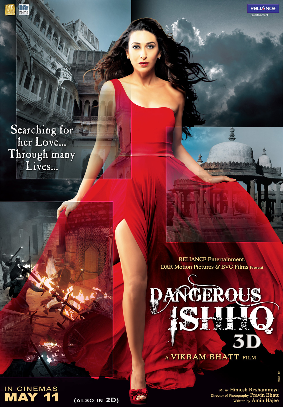 First Look Poster Dangerous Ishhq Karishma Kapoor MOVIE: Dangerous Ishhq (2012)