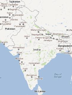 India_google_map