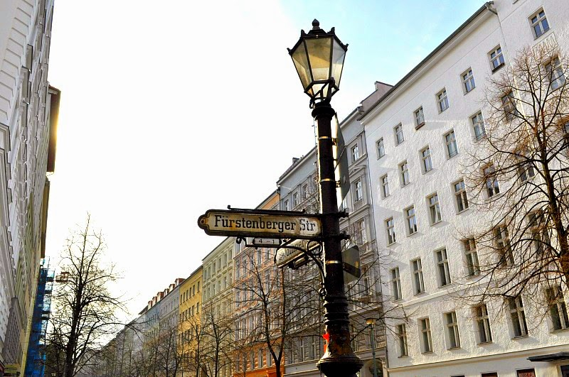 Style in your city, street signs berlin