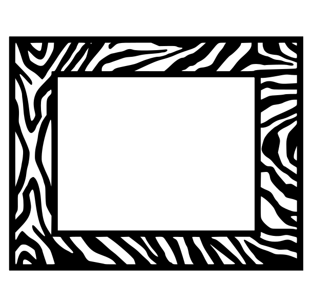 zebra frame free svg files
