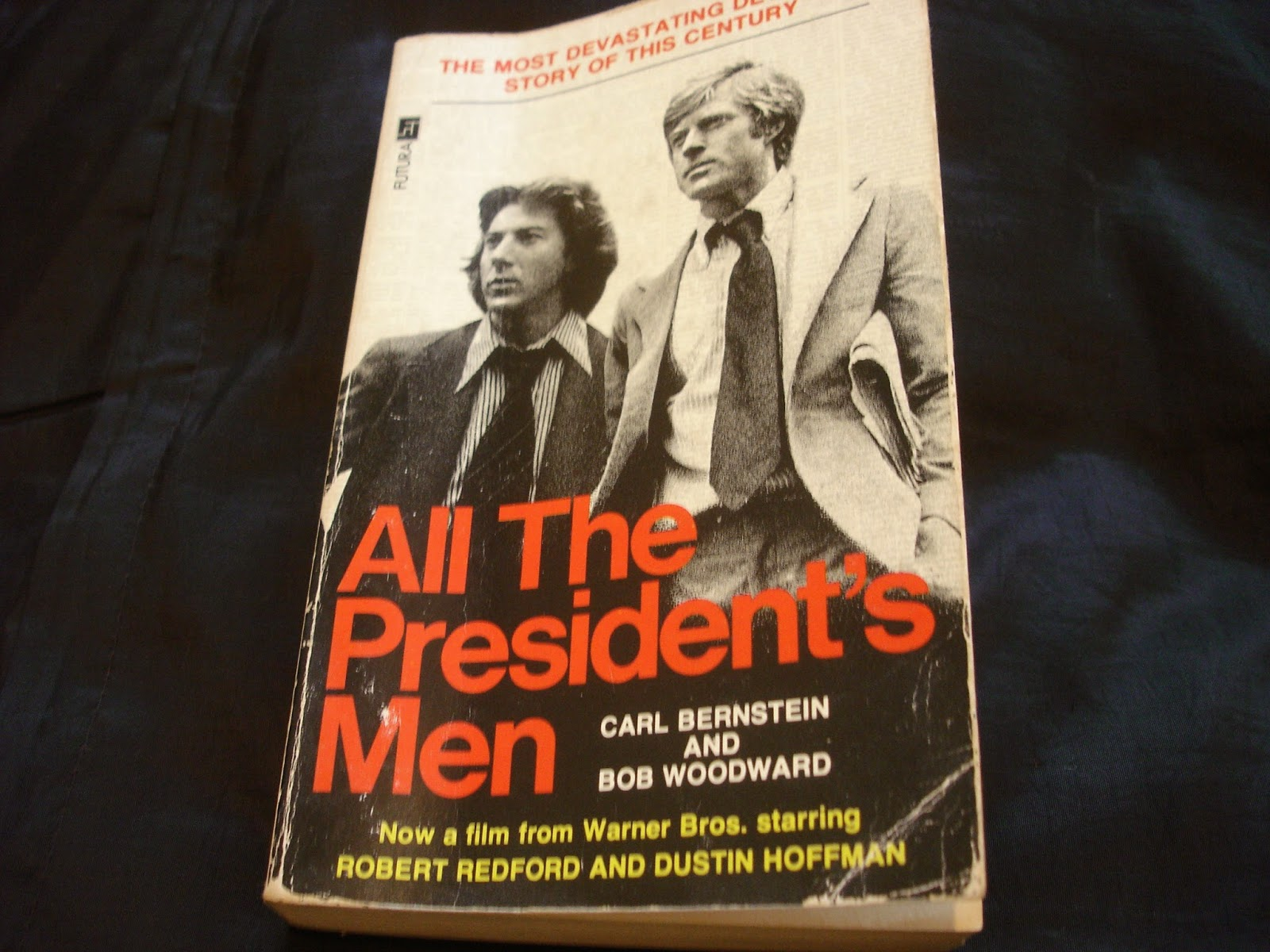 an analysis of the book all the presidents men by carl bernstein and bob woodward All the president's men by carl bernstein bob all the president's men (book, film) the characters of bob woodward and carl bernstein shared the rank of.