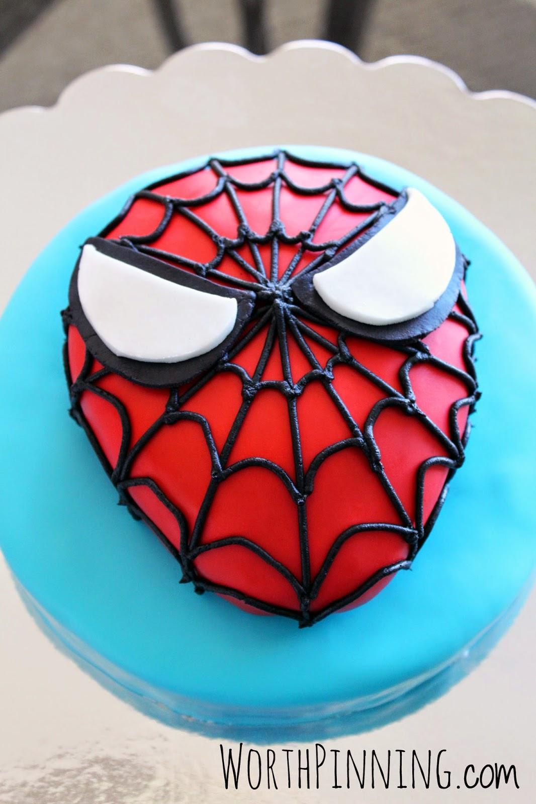 Spider Birthday Cake Images