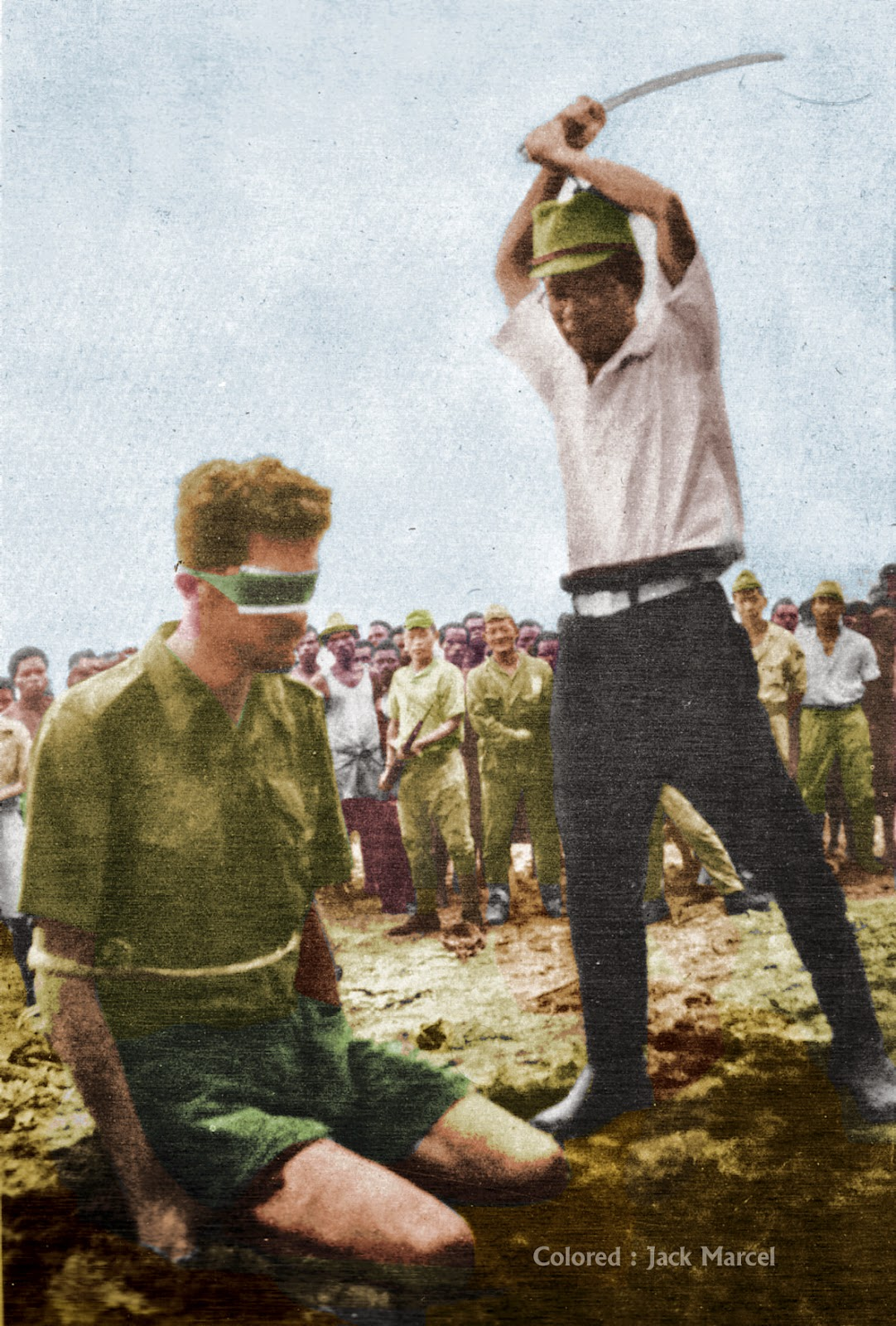 foto kekejaman tentara jepang di indonesia selama perang dunia ke -2