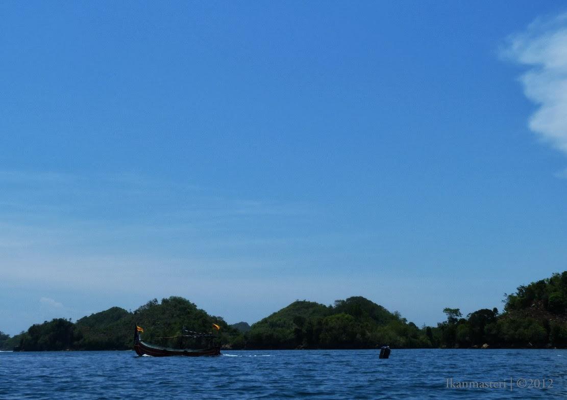 Melaju ke pulau Sempu
