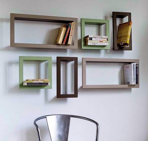 minimalist bookshelf