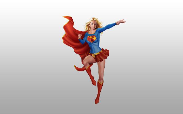 SuperGirl Super Chica Fondos de Fantasia