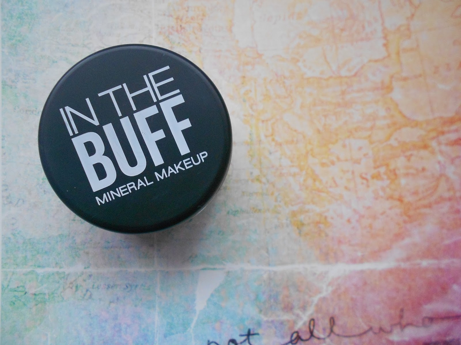 in the buff mineral foundation buttercream review
