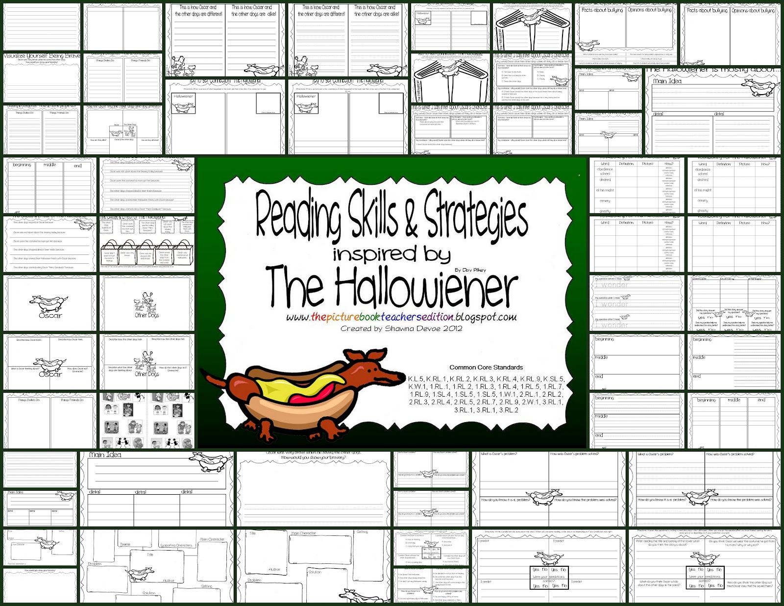 the picture book teacher u0027s edition the hallo wiener by dav pilkey