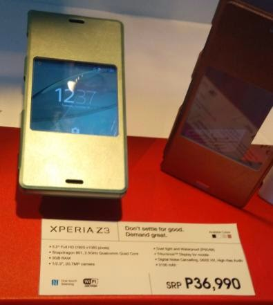 Sony Philippines Unveiled Xperia Z3