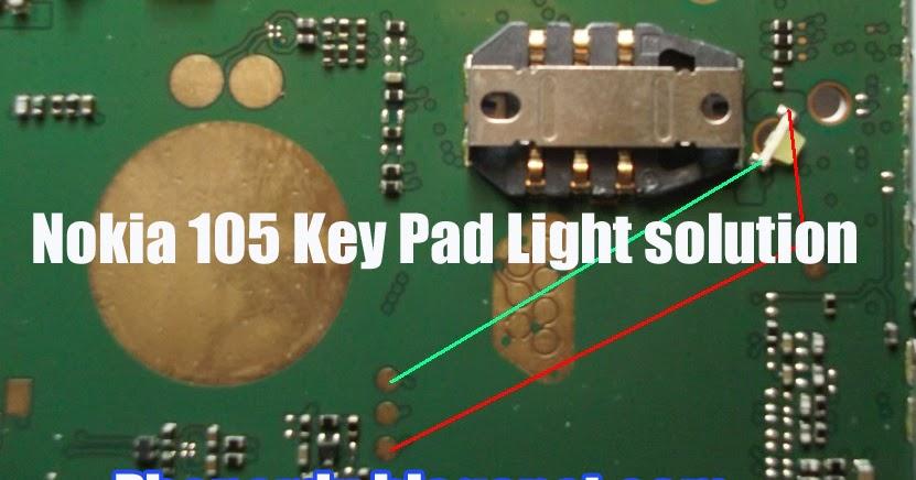 Nokia 105 Key Pad Light Solution Phonerdx