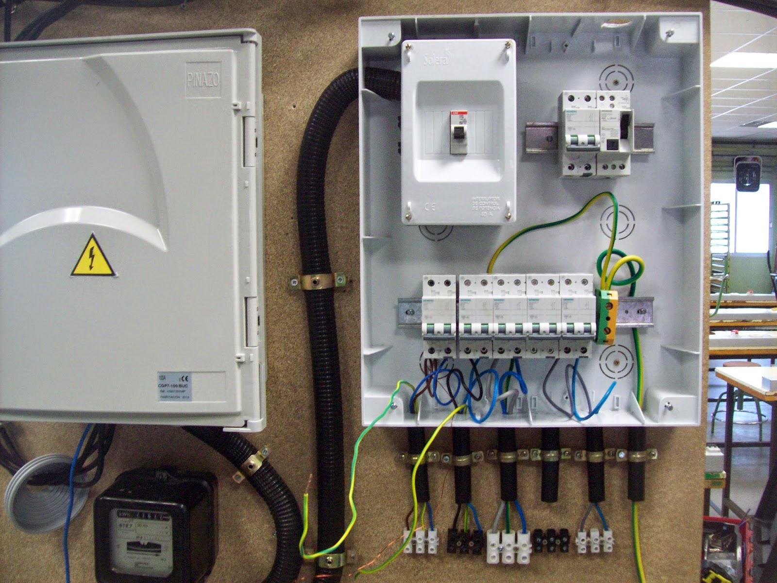 Formaci n profesional b sica electricidad electr nica - Instalacion de electricidad ...