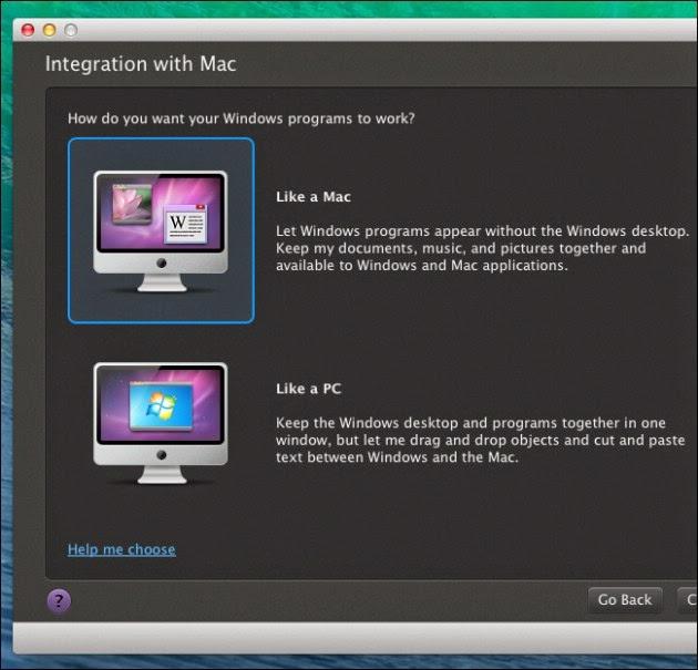 Cách chạy ứng dụng Windows trên máy tính Mac