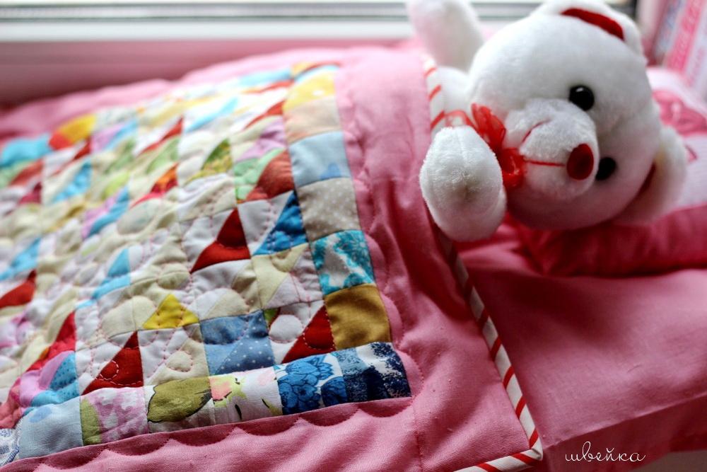 кукольное одеялко