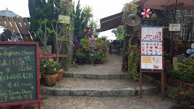 Cafe near Wenwu Temple at Sun Moon Lake Taiwan