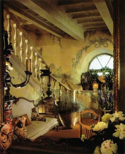 Eye For Design: Old World Interiors Diane Burn Style