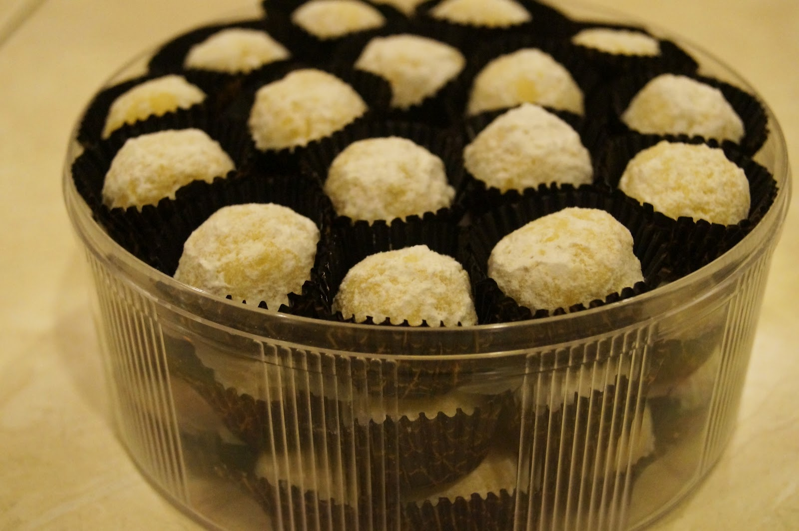 homemade cookies & chocolates