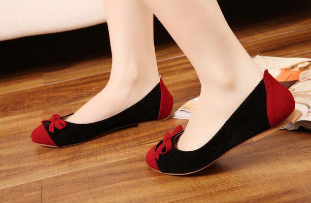 Simplicity Is The Keynote Of All True Elegance Ladies Flat