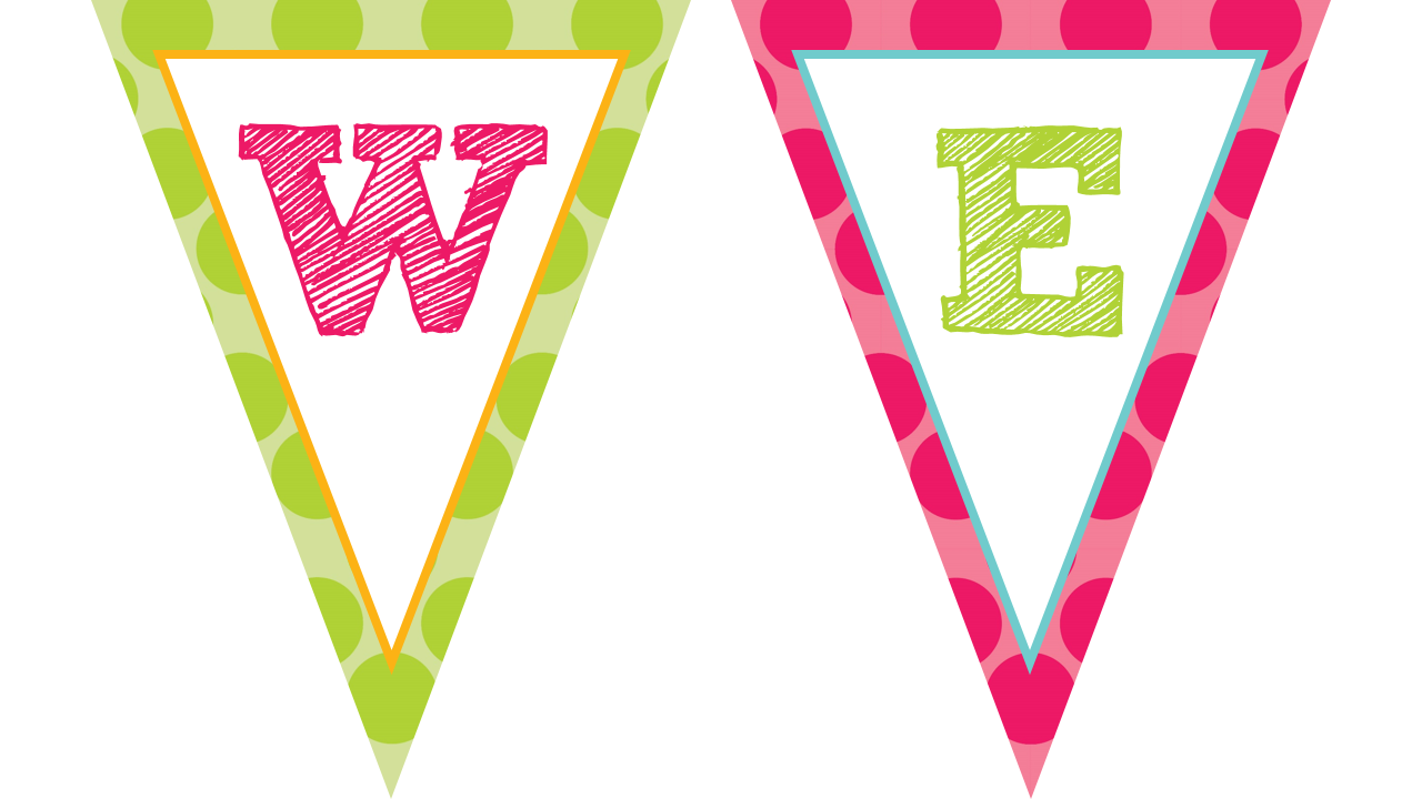 the teaching sweet shoppe owl themed welcome banners in With pennant banner with letters