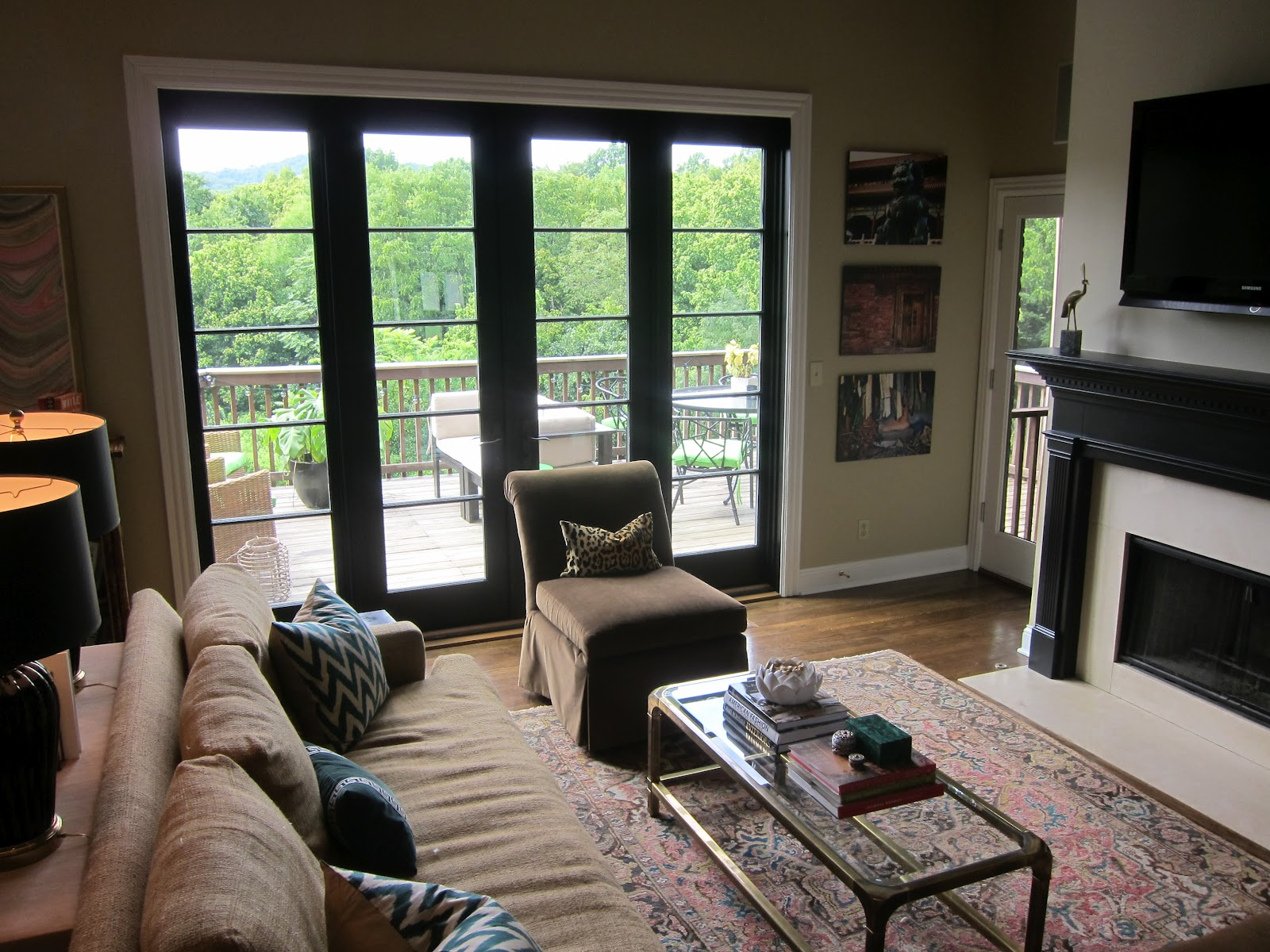 My interior life new doors as ive mentioned ad nauseum we finally got new french doors to replace our old sliding glass system i love them so much planetlyrics Image collections