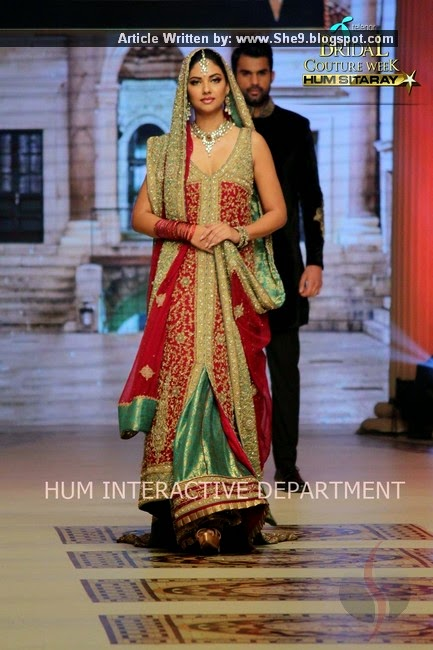 Bridal Dresses at Couture Week of TBCW-2014