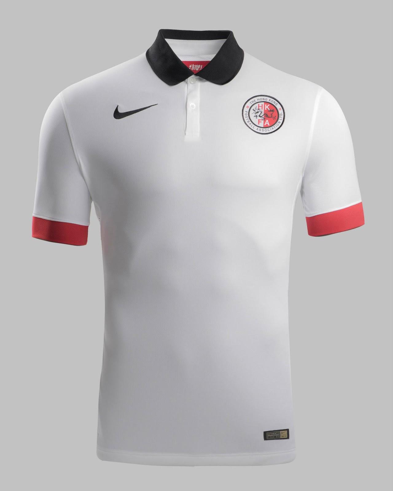 Shirt design kit - Hong Kong 2014 2015 Away Jersey