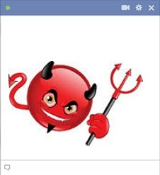 Facebook Devil Emoticon