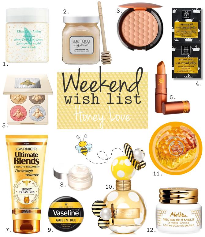 Weekend Wish List – Honey Love