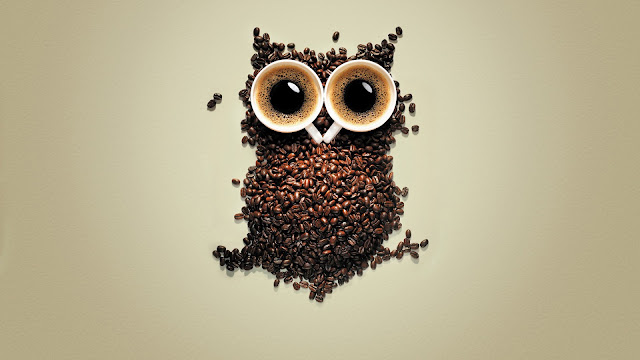 Extra Strong Coffee advertising wallpaper