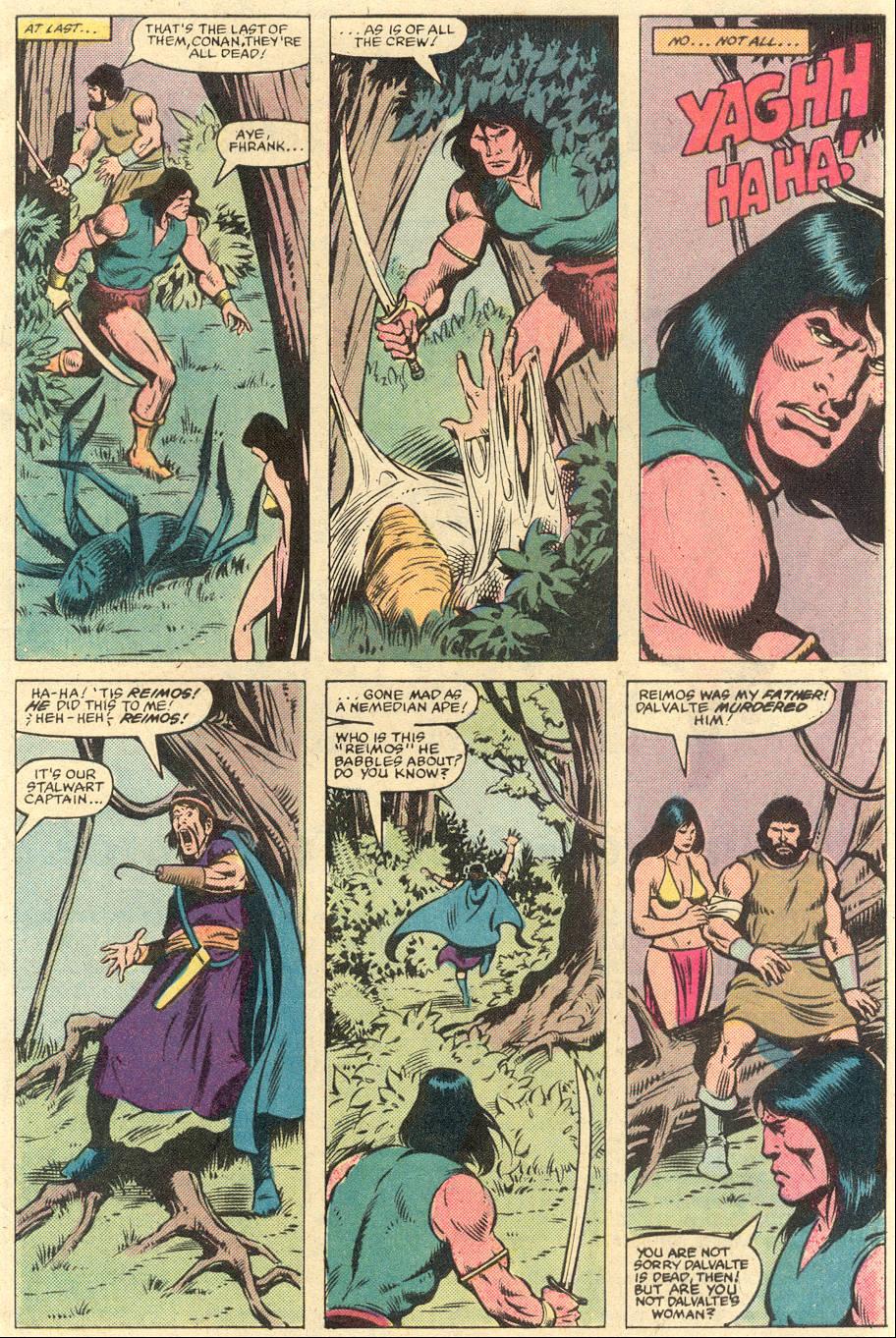 Conan the Barbarian (1970) Issue #141 #153 - English 4
