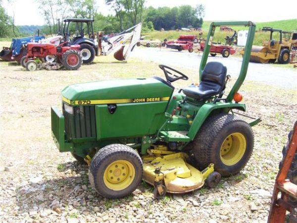 John Deere Tractor 970 Parts