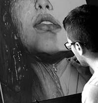 Retratos super realistas incríveis feitos a lápis por Diego Fazio
